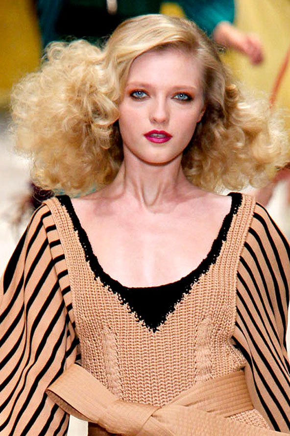 Hairstyles From The Catwalk Fashion Esque